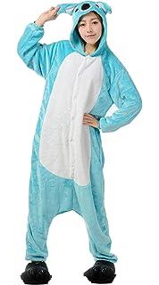 Licorne Unisex Adult Pajamas, Nousion Cosplay Christmas Unicorn Sleepwear Onesies Outfit