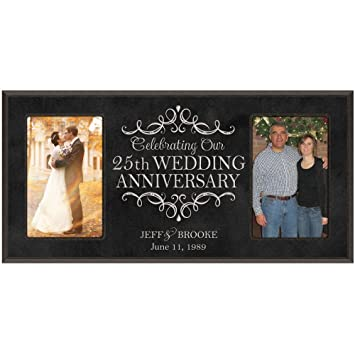 Amazoncom 25th Anniversary Gift Personalized 25th Wedding