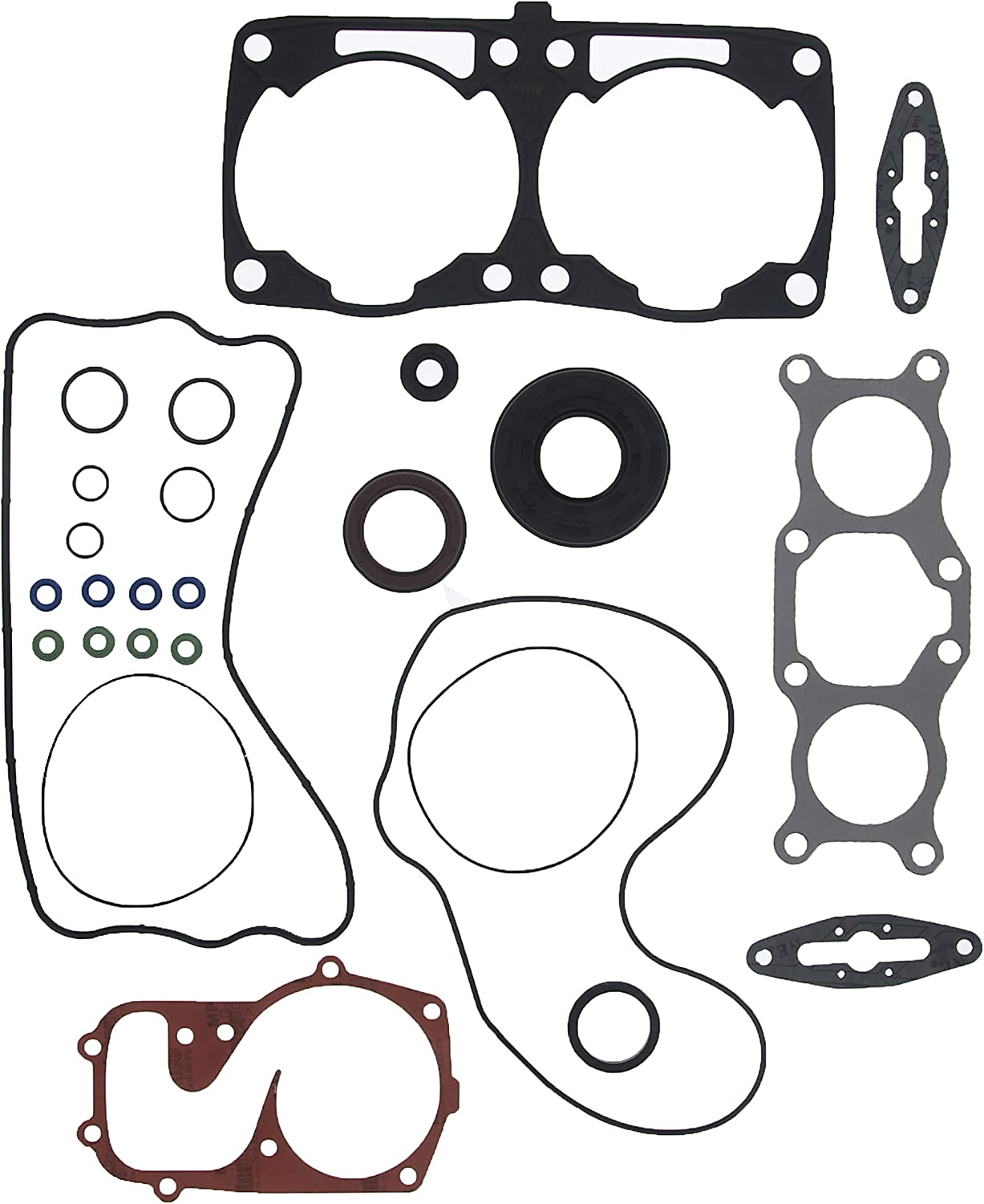 Complete Gasket Kit fits Polaris Rush 800 2011 2012 Snowmobile by Race-Driven