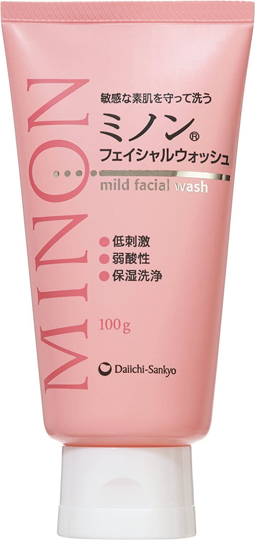 乾燥肌向け洗顔料 ミノン