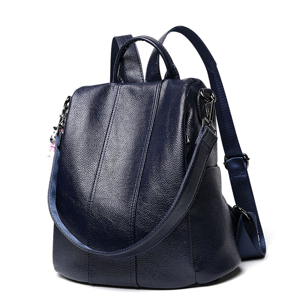 JMレザー、ショルダーバッグ、メス韓国スタイル、ファッションワイルド、レザーバッグ、大容量、カジュアルソフトレザーバックパック(カラー: B) B07FY26BXM