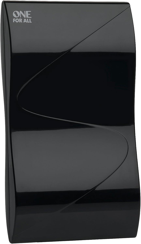 One For All SV9323, Antena de TV Amplificada para Interior, Recibe TDT en un rango de 15km, Antena Full HDTV Digital, Incluye Cable Coaxial de Alto ...