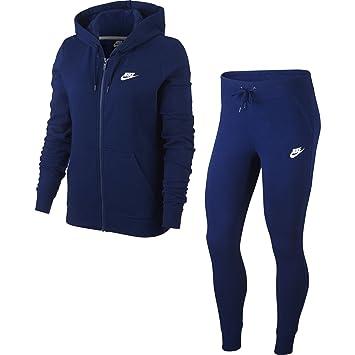 pas cher pour réduction fe889 26774 Nike NSW W TRK Suit FLC - Survêtement, Femme, Multicolore ...