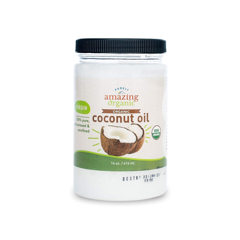 Purely Amazing Organics Organic Virgin Coconut Oil, 14 fl. oz.