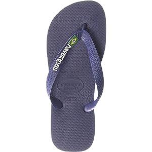 6ee708a2e0beb8 Havaianas Women s Brazil Logo Flip Flop Sandal