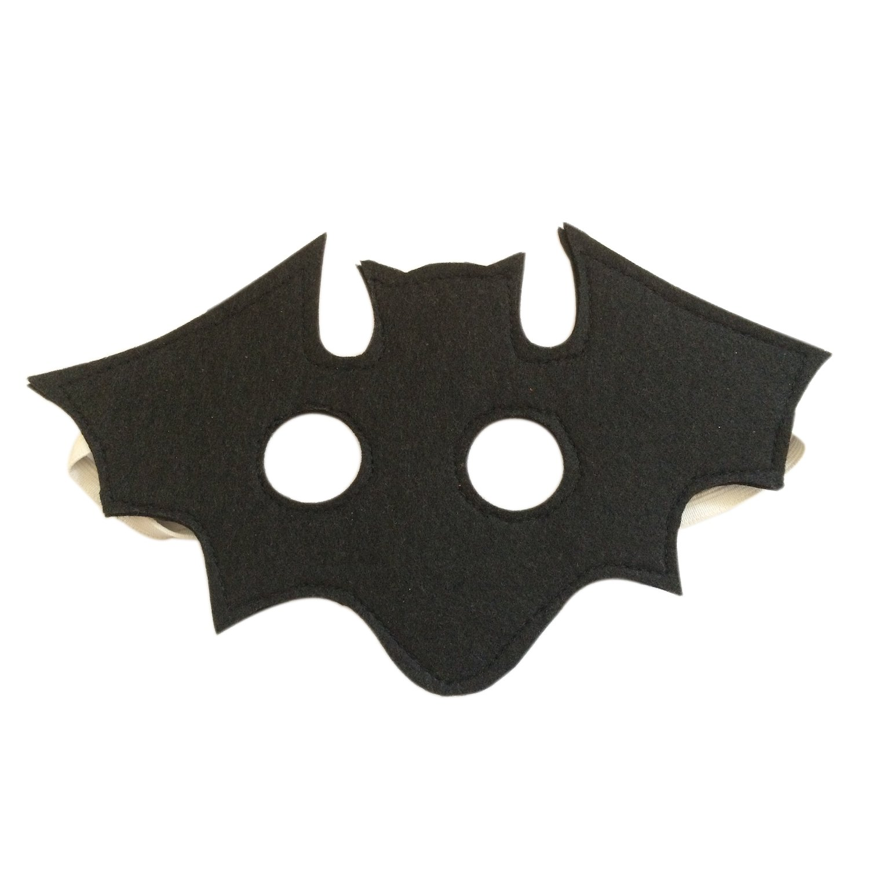 Fledermaus Maske, Filzmaske für Kinder Filzmaske für Kinder Jolly Designs