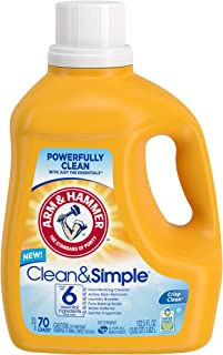 product image for Arm & Hammer Clean & Simple, 70 Loads Liquid Laundry Detergent, 122.5 Fl oz