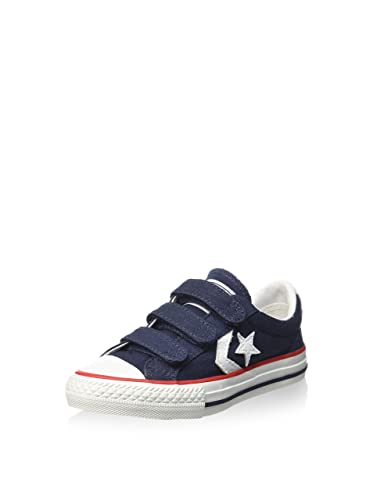 0852b1c76ee Converse Trainers Shoes Kids Star Player Ev Triple Canvas Dark Blue [10,5 C