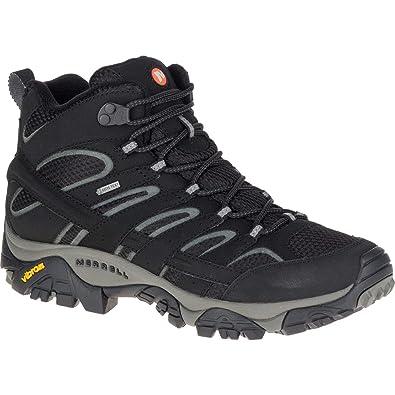 Merrell Moab 2 Mid Leather Gore tex, Chaussures de Randonnée Hautes Homme
