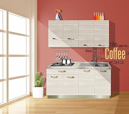 Cucina economica Reversibile completa di elettrodomestici colore ...