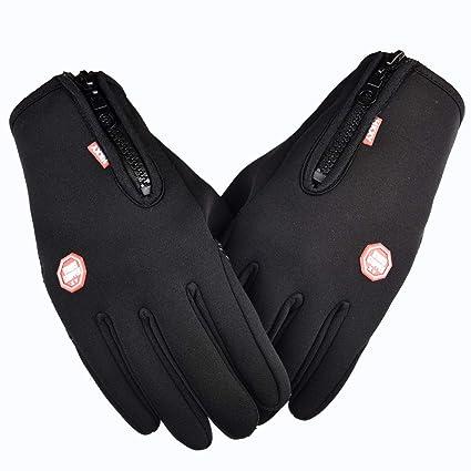 Outdoor Sport Winter Ski Warm Mens Women Touch Screen Driving Cycling Gloves UK