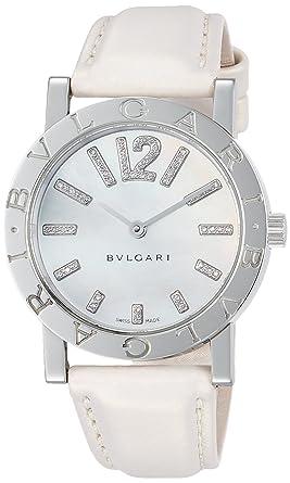 c28999a82213 [ブルガリ]BVLGARI 腕時計 ブルガリブルガリ ホワイトパール文字盤 ダイヤモンド BB33WSL/D レディース