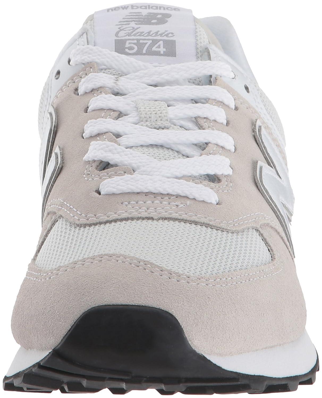 New Balance Women's Iconic D 574 Sneaker B071FJ55VT 6 D Iconic US|White 45faaa