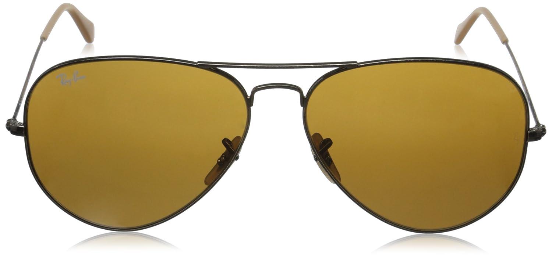 4c660054b0f3d0 RAY BAN - 3025 - Lunettes de soleil Homme, antique gold  Amazon.fr   Vêtements et accessoires