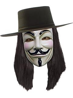 Rubbies - Disfraz de V de Vendetta para hombre, talla única ...