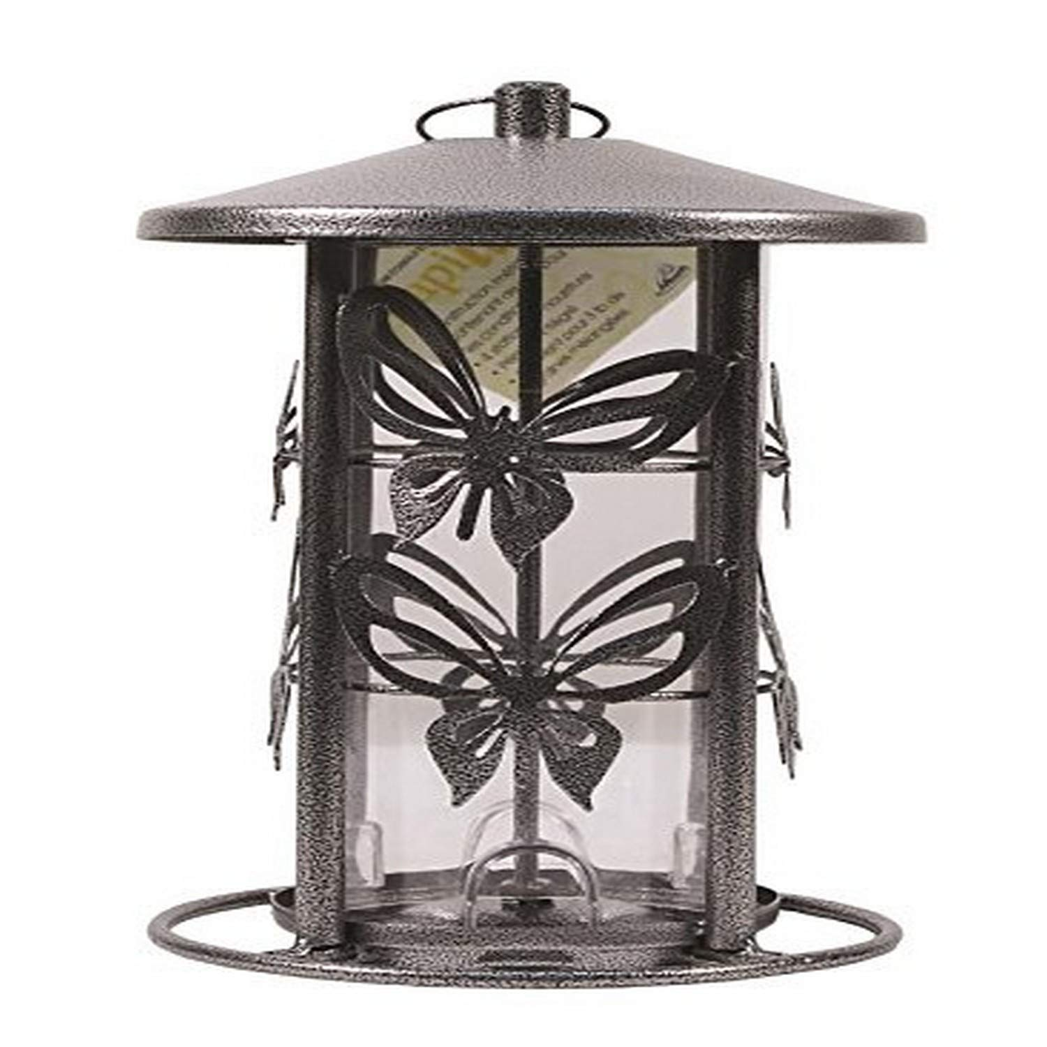 Wild Bird Feeder, 3-Pound Butterfly Seed Capacity