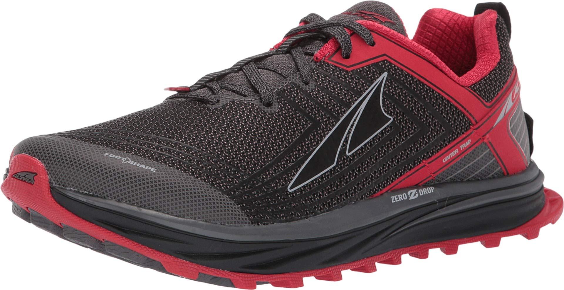 Altra Footwear Men's TIMP 1.5 Red/Gray 7 D US