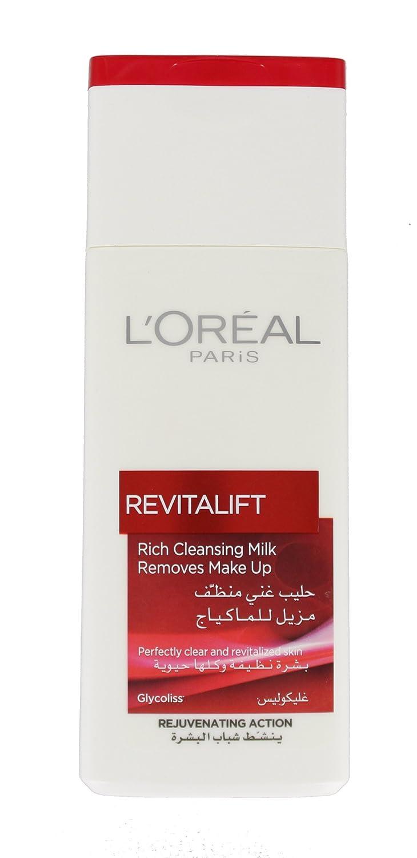L Oreal Revitalift ricos leche limpiadora 200 ml