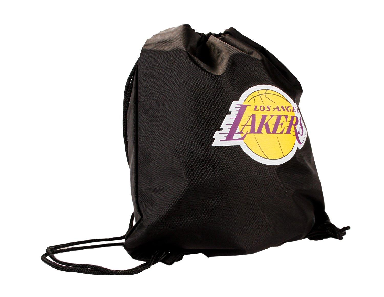Los Angeles Lakers NBA Nylon Drawstring Lightweight Backpack