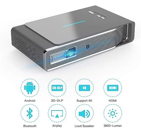 Amazon.com: Proyector de vídeo V5: Electronics