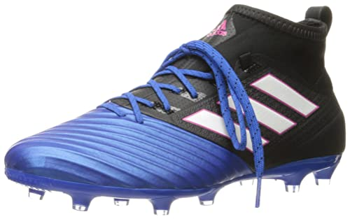adidas Men s ace 17.2 Primemesh fg Soccer Shoe Black White Satellite (7.5 M 840f94bd49a