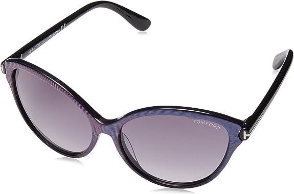Bordeaux//Gradient Brown Tom Ford Sunglasses FT0459 Kasia 71F 55//19//140