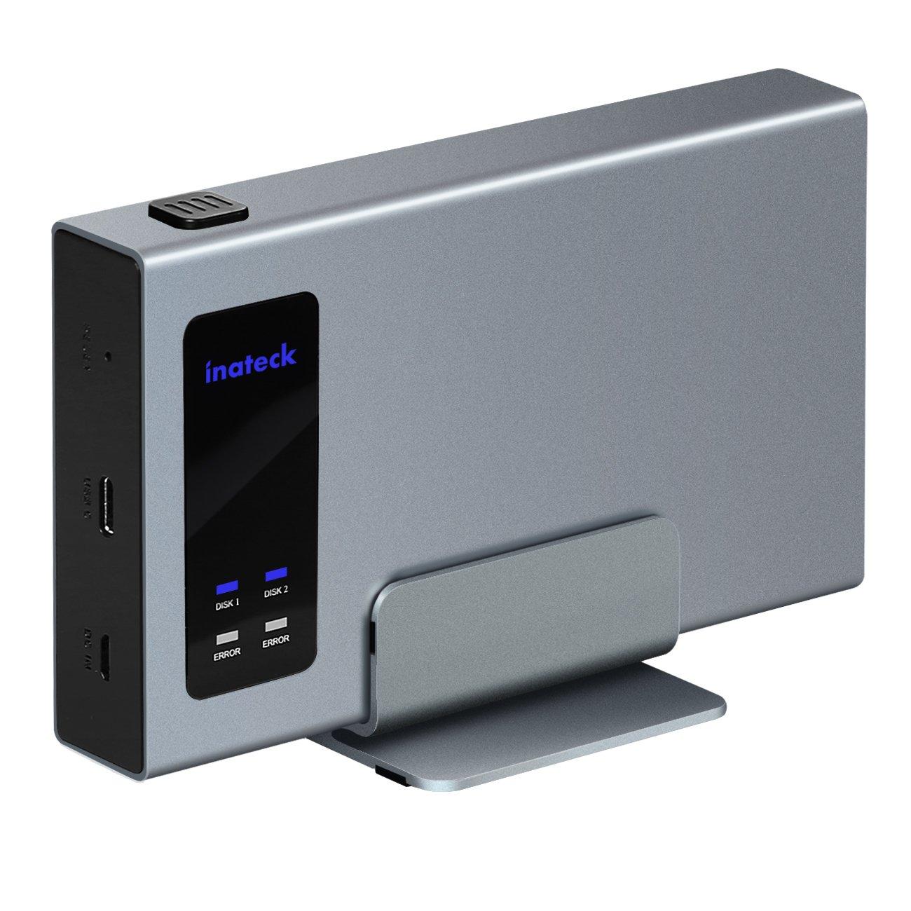 80off Inateck Aluminum Usb C Raid Hdd Enclosure Dual Bay With A Avaya 4620 5620 Circuit Board Portable