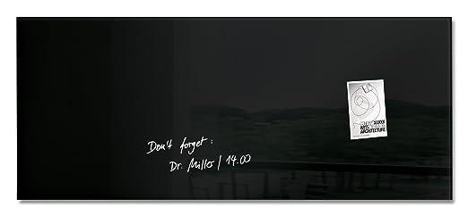 28 opinioni per Sigel GL240 Lavagna magnetica di vetro / bacheca di vetro artverum, nera, 130 x