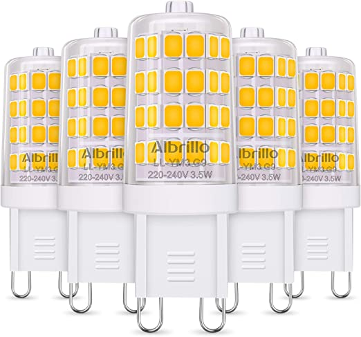 Energy Class A Albrillo G9 LED Lamp 3.5w