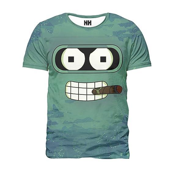 Noorhero Camiseta de Hombre - Future Bander  Amazon.es  Ropa y accesorios c85cb5a2223