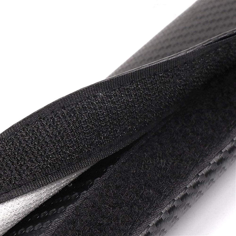 Farbe : White Gurtpolster Auto 2ST Auto-Sicherheitsgurt-Abdeckungen for Skoda Octavia Carbon-Faser PU-Leder-Sicherheitsgurt-Abdeckung Schulterpolster Car Interior Zubeh/ör