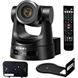 FoMaKo 20X-SDI Simultaneous 3G-SDI/HDMI PTZ Camera 1080p w/PoE 60 fps, 20x Optical Zoom Church IP Live Streaming Camera Broad
