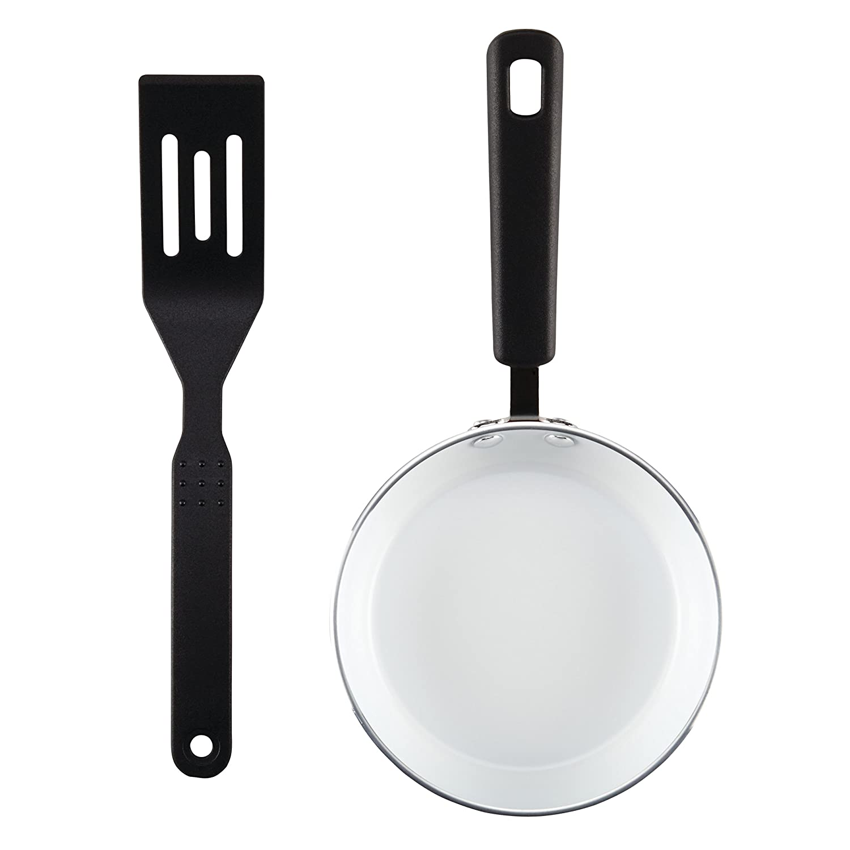 SilverStone 17554 Ceramic Cookware Skillet Kiwi Green 5