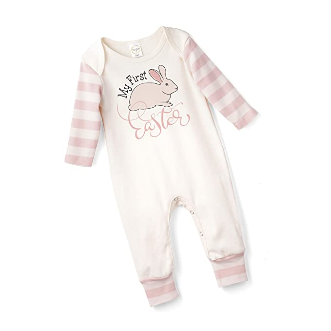 610d7be36808 Amazon.com  Tesa Babe Easter My First Easter Bunny Romper