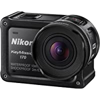 Nikon KeyMission 170 4K Ultra HD Action Camera with Built-In Wi-Fi - Factory Refurbished