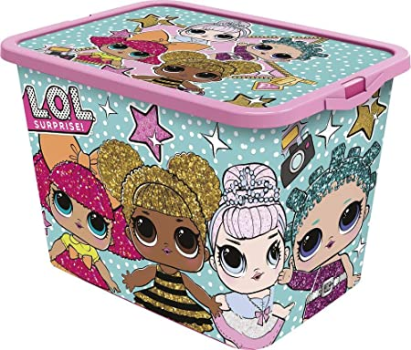 LOL SURPRISE Caja click 23 litros, Multicolor, No aplica: Amazon.es: Hogar