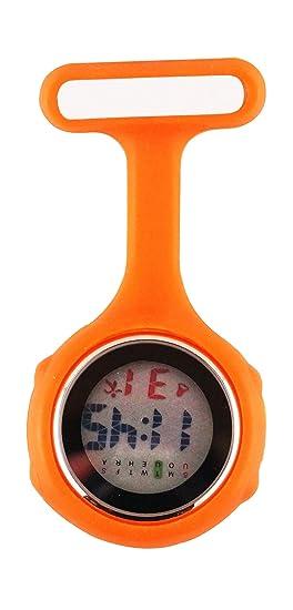 Ellemka - JCM-330 Reloj de enfermera digital para profesionales de la salud, multifuncional