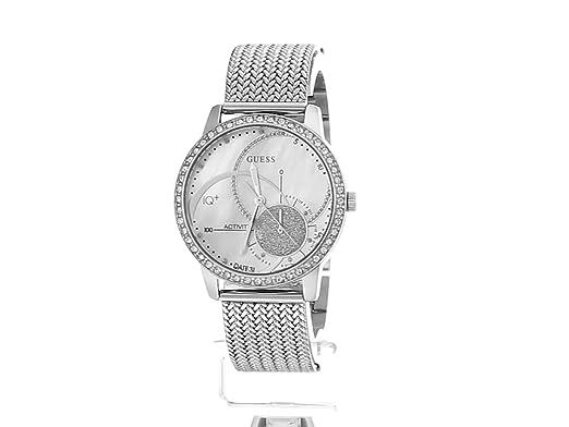 GUESS Aria Ladies Active Plata, Blanco reloj inteligente: Amazon.es: Electrónica