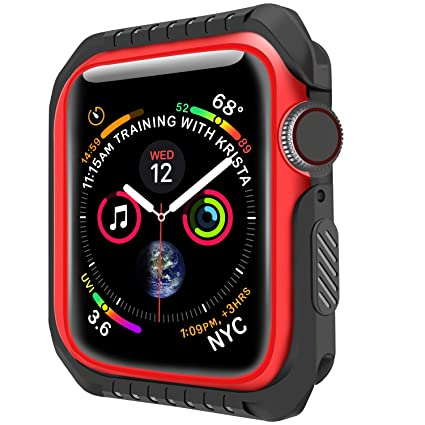 Amazon.com: Compatible con Apple Watch Bumper Screen ...