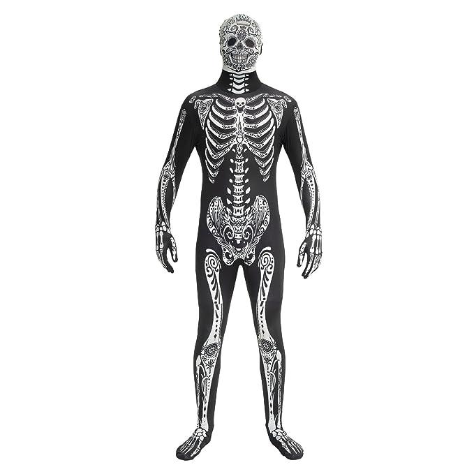 Morphsuits MPDDL - Day of the Dead Kostüm - Größe Large - 5