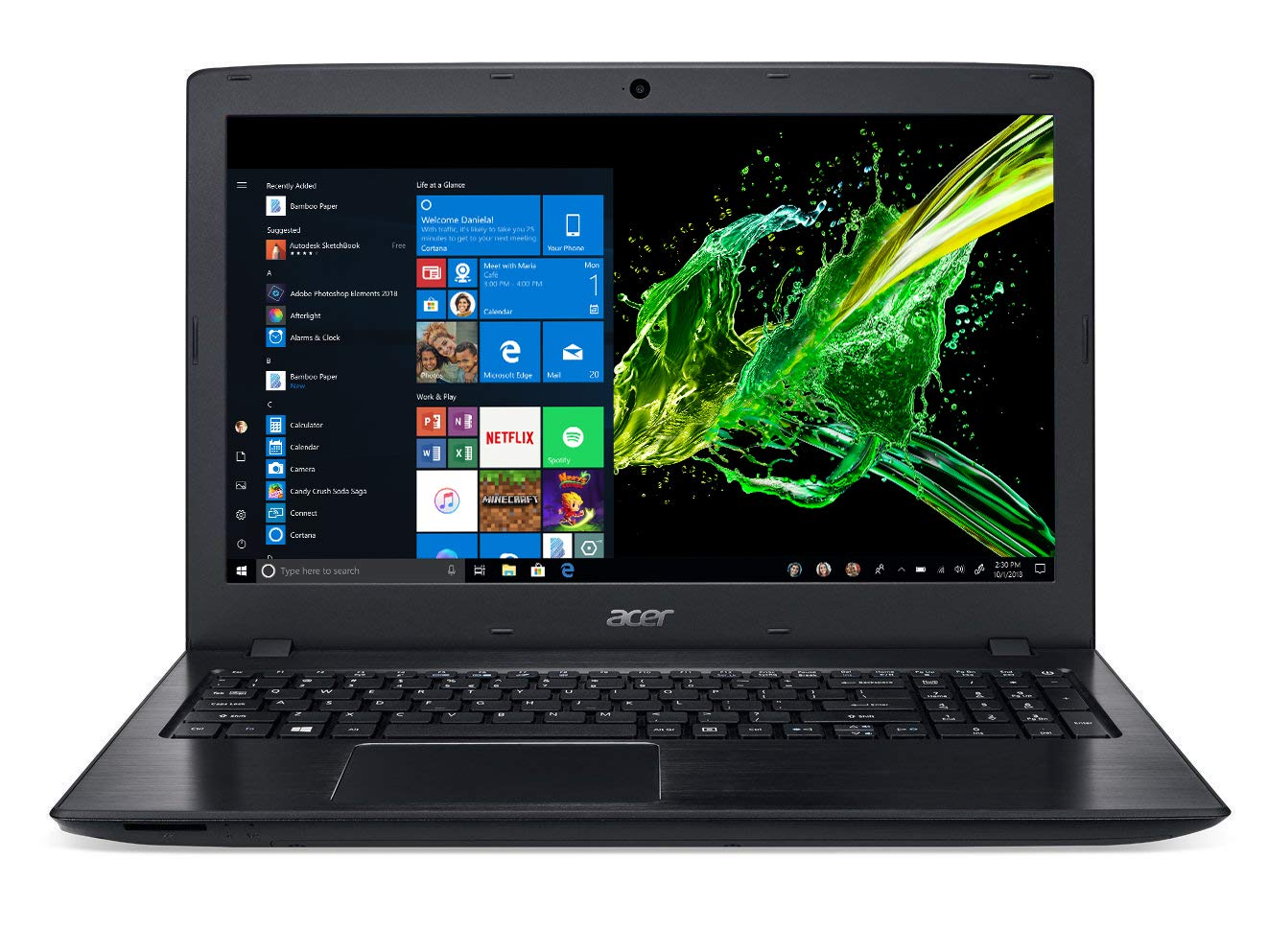 0616837362542 Amazon.com: Acer Aspire E 15 Laptop, 15.6