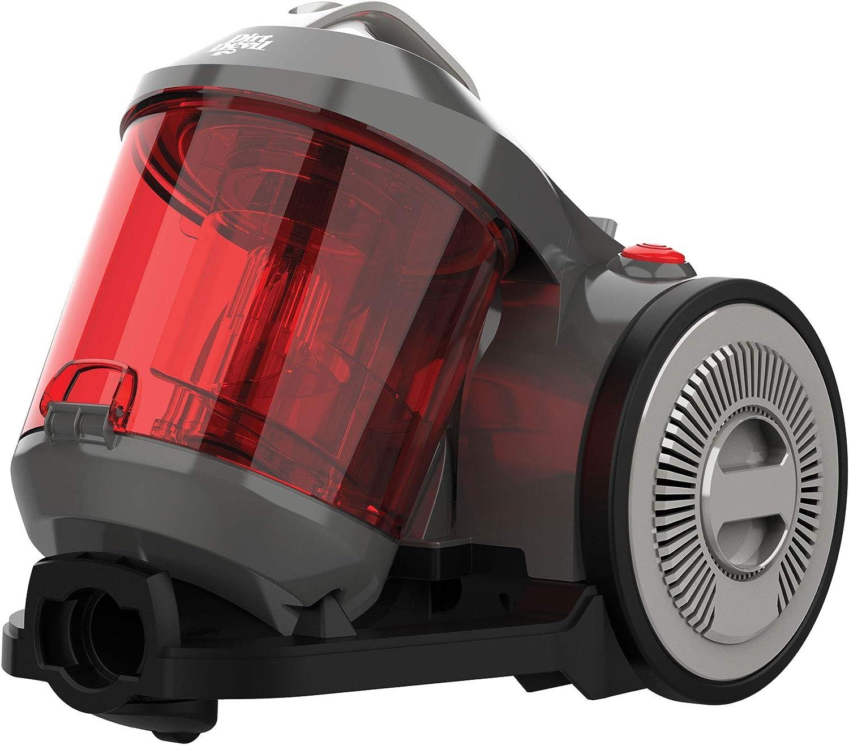 Dirt Devil DD2720 – 3 Ultima Power Parquet aspirador sin bolsa, 800 W, gris/rojo: Amazon.es: Hogar