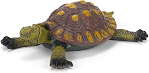 Gift Craft 7-Inch Poly Resin Turtle Floatie Design, Small, Green/Brown