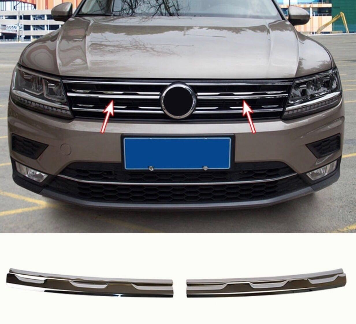 Emblema Trading - Listelli per griglia anteriore in acciaio inox cromato KK L.L.C
