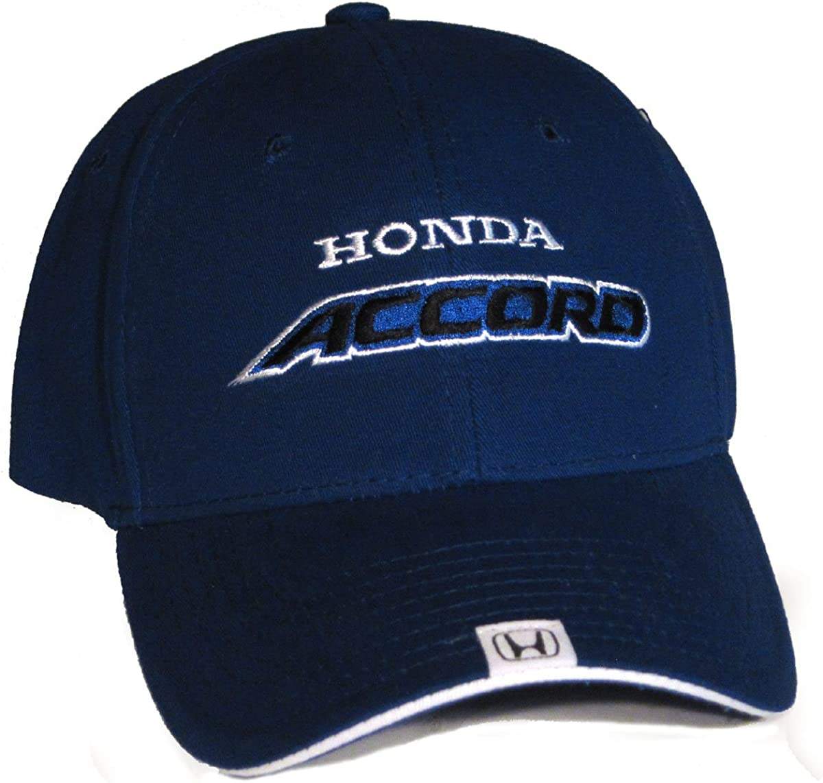 Bundle with Driving Style Decal Honda Accord Flex-Fit Hat Cap Blue