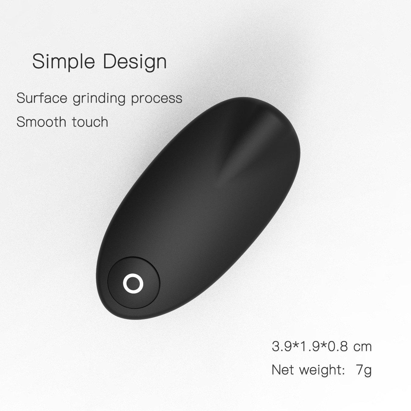 D/&K Wireless Presenter RF 2.4GHz Presentation Finger Ring Remote Pointer PowerPoint PPT Slides Clicker USB Rechargeable
