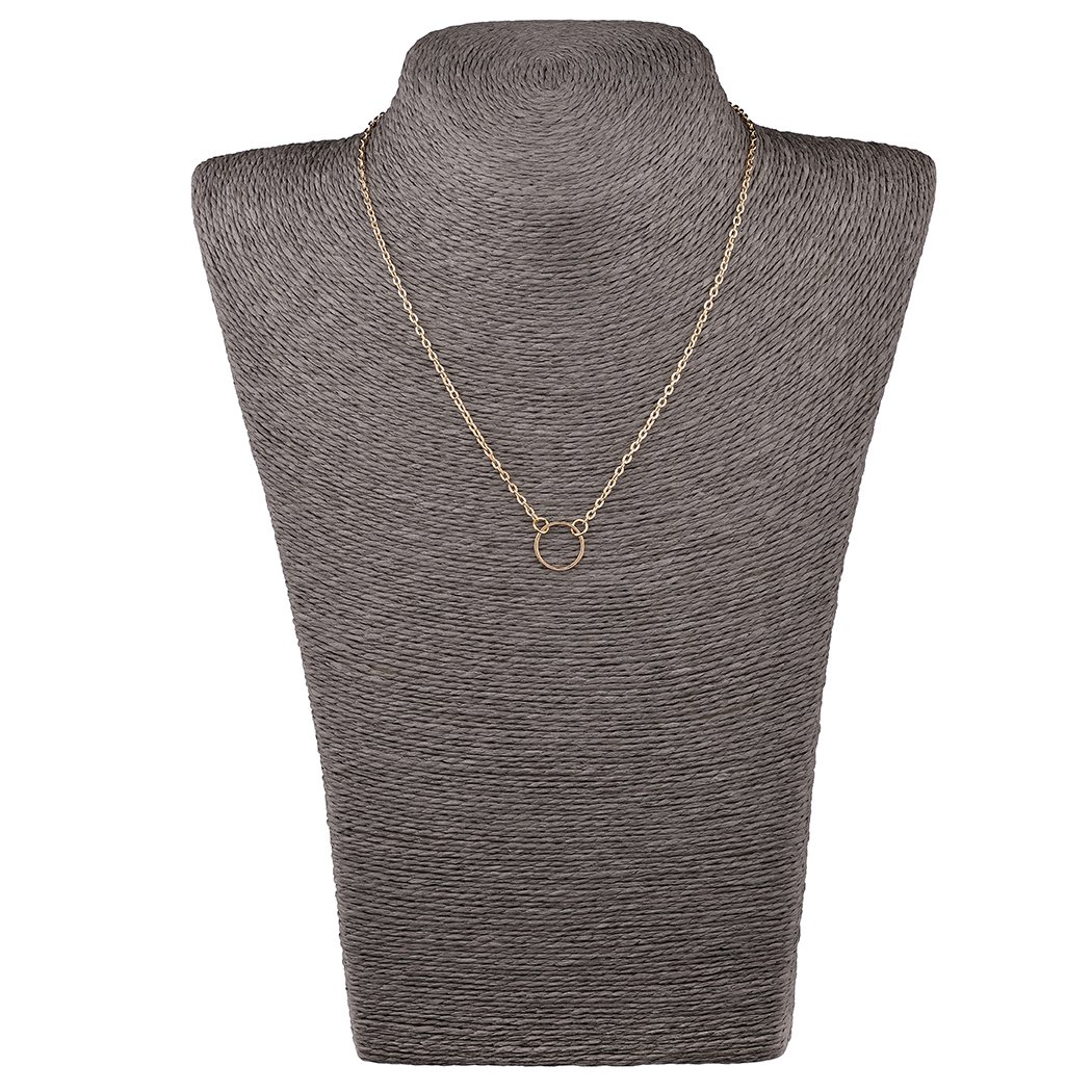 Mother's Day Gift- 5 PCS Long Lariat Y Chain Necklace Set Simple Bohemia Multilayer Pendant for Women by Angelus (Image #7)