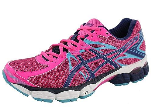 6a7ed4e8011 ASICS Womens Gel Flux 2 Running Shoes (6 M US