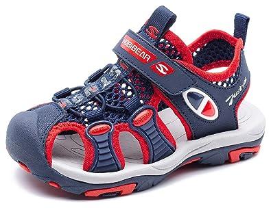 Amazon.com: Gubarun - Sandalias deportivas para niños con ...