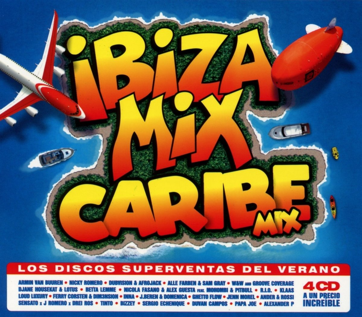 Disco Ibiza Mix + Caribe Mix 2018